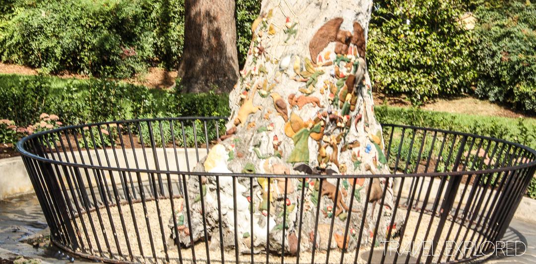 Melbourne - Fitzroy Gardens Fairies Tree