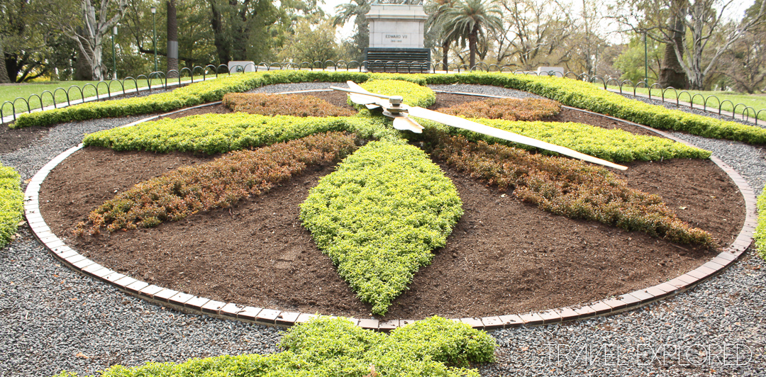 Melbourne - Floral Clock