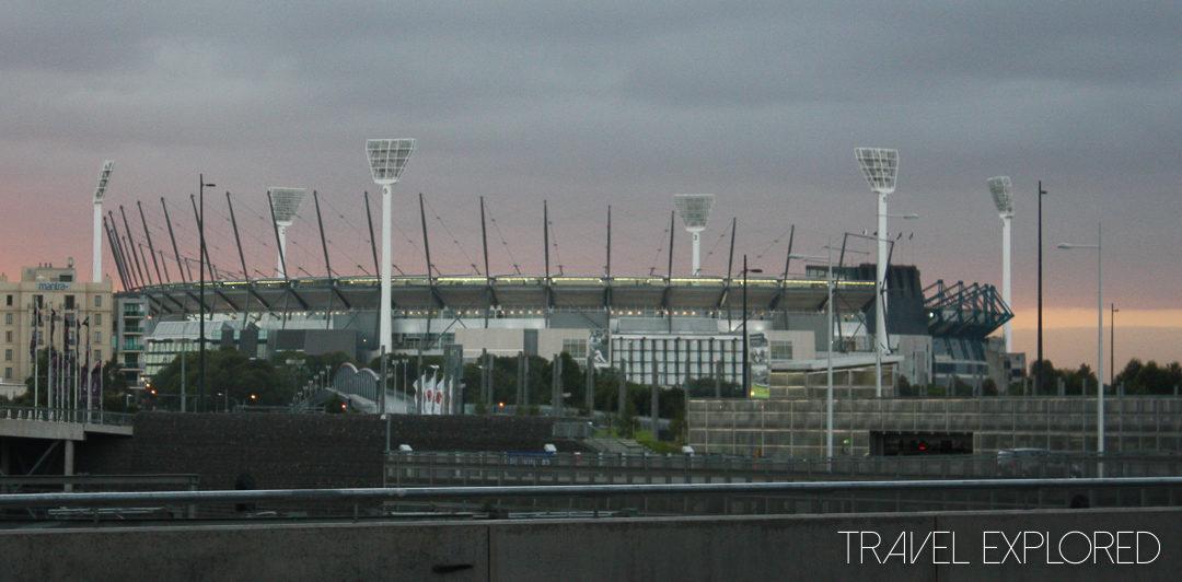 Melbourne - MCG morning