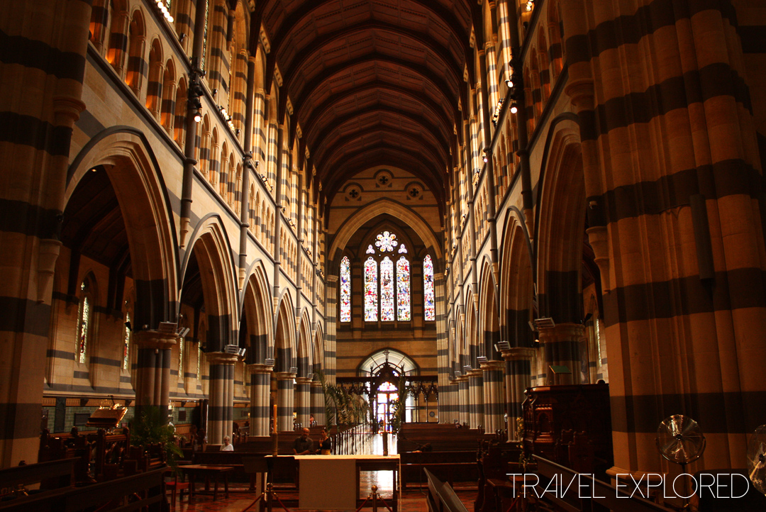 Melbourne - St Paul's Cathedral Interior