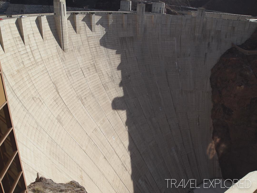 Las Vegas - Hoover Dam Wall