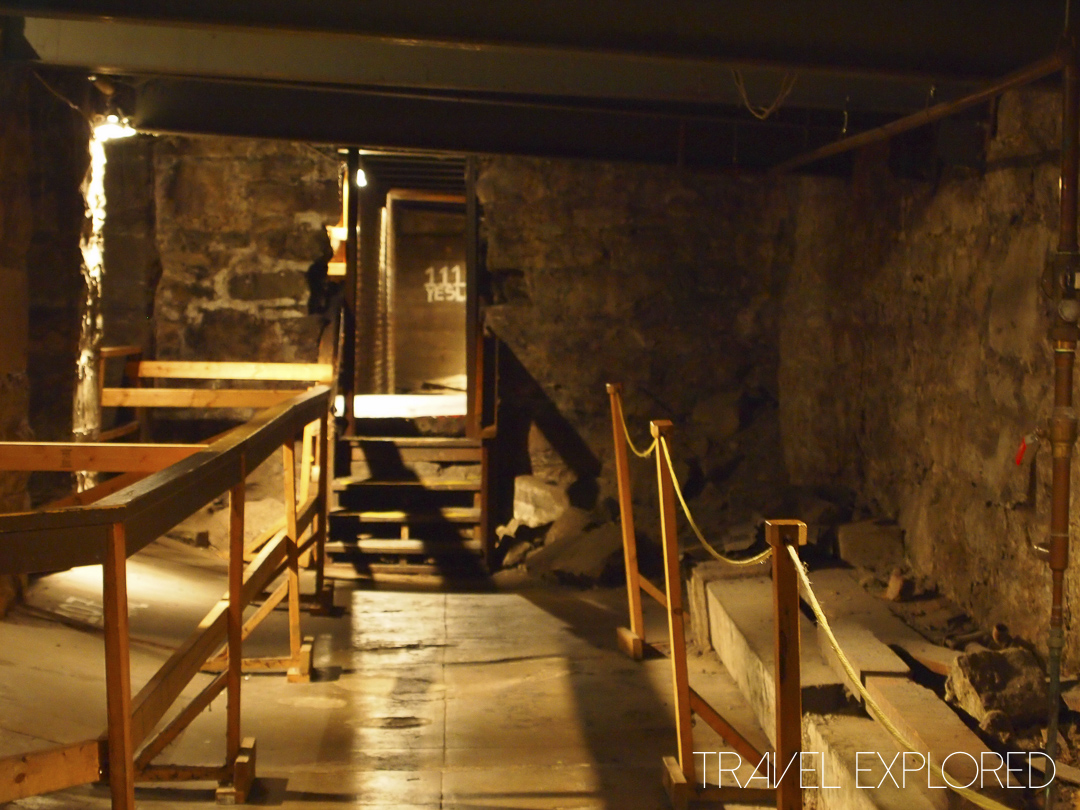Seattle - Underground Tour - Passage