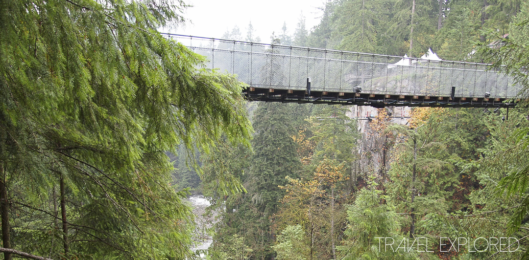 Vancouver - Capilano Suspension Bridge