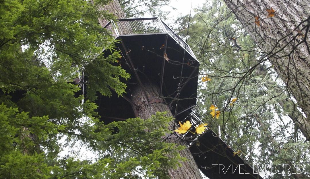 Vancouver - Capilano Treetops Adventure