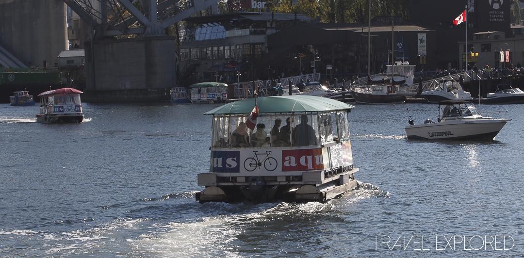Vancouver - Granville Island Aquabus