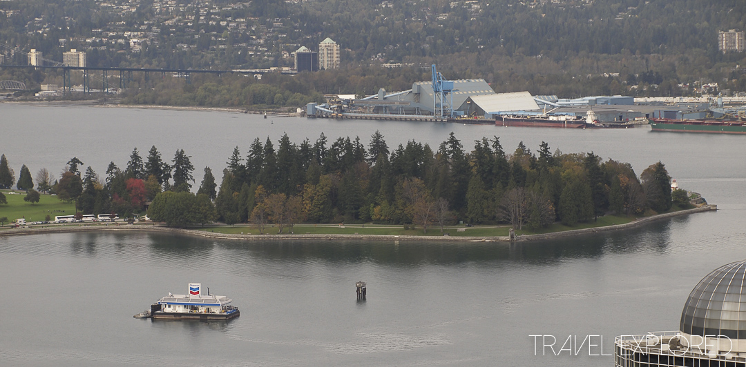 Stanley Park from Vancouver Lookout