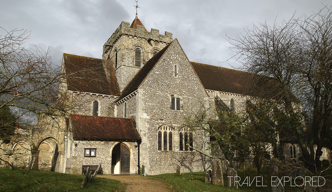 Box Grove Priory - Church
