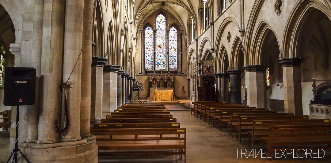 Box Grove Priory - Church Interior
