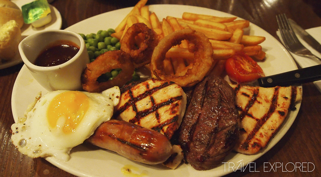 Dinner Mixed Grill