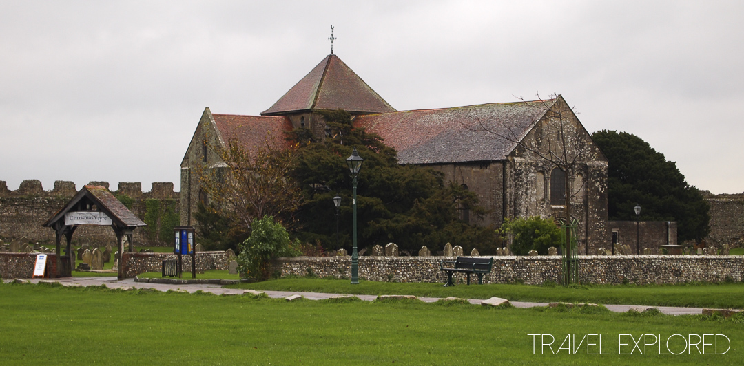 Portchester Castle Church