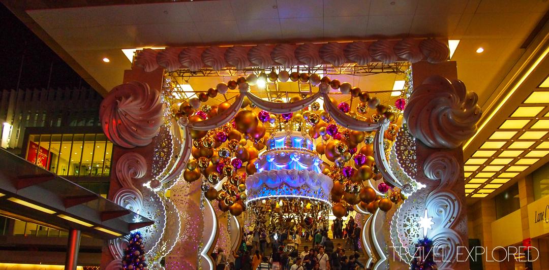 Hong Kong - Christmas Display