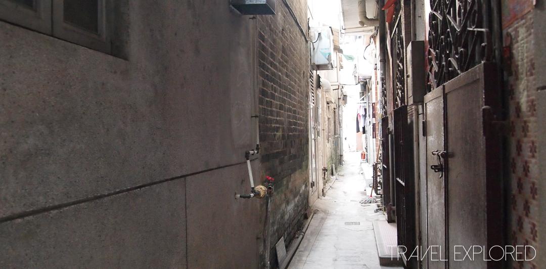 Hong Kong - Fanling Village Alleyway