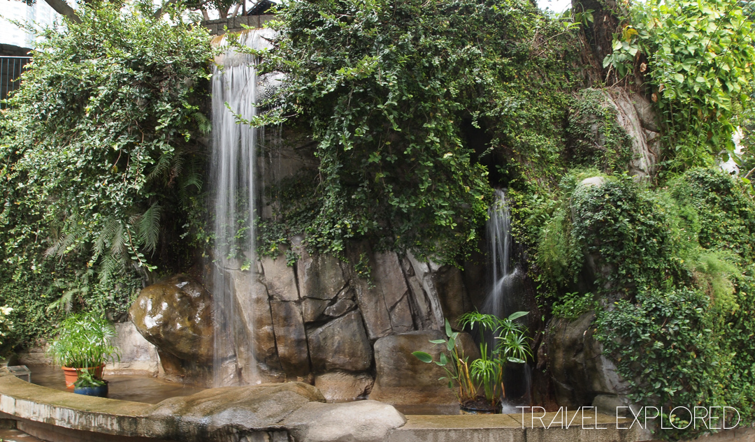 Hong Kong - Kowloon Park Waterfall