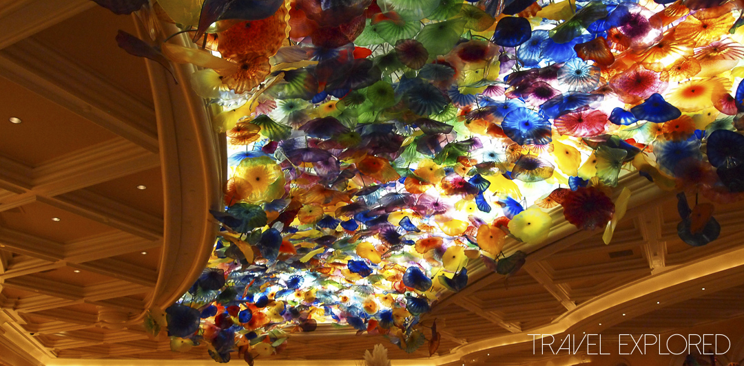 Las Vegas - Bellagio Lobby Ceiling