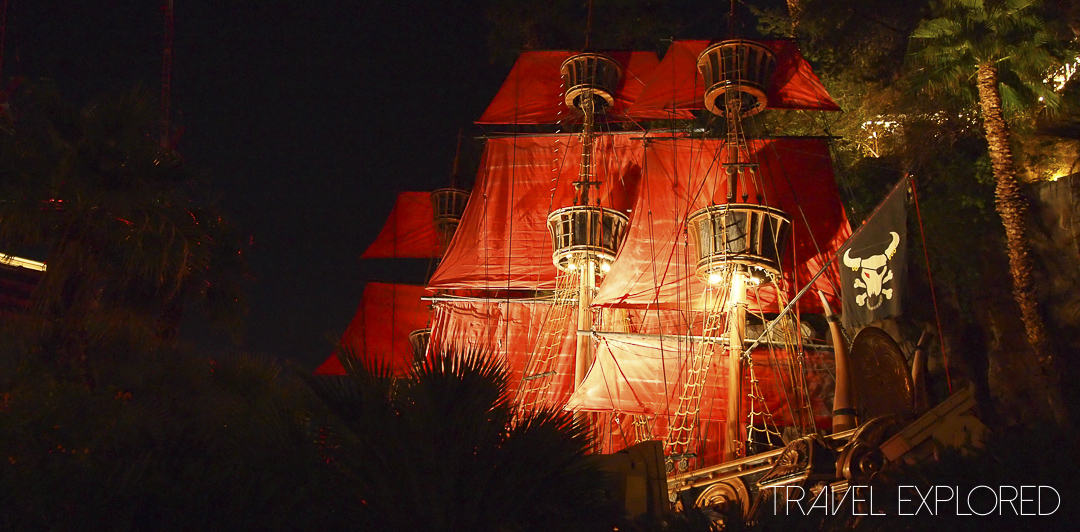 Las Vegas - Treasure Island Pirate Ship
