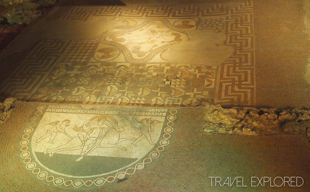 Lullingstone Roman Villa Mosaic