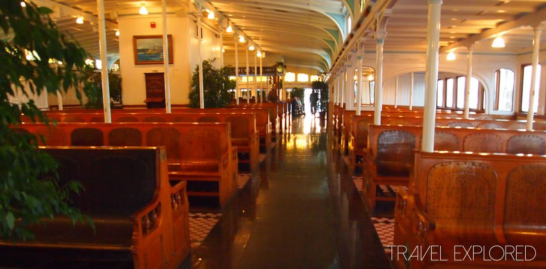 San Diego - Berkeley Ferry Upperdeck