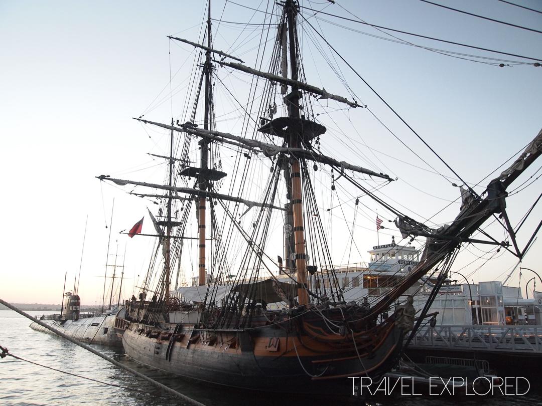 San Diego - HMS Surprise