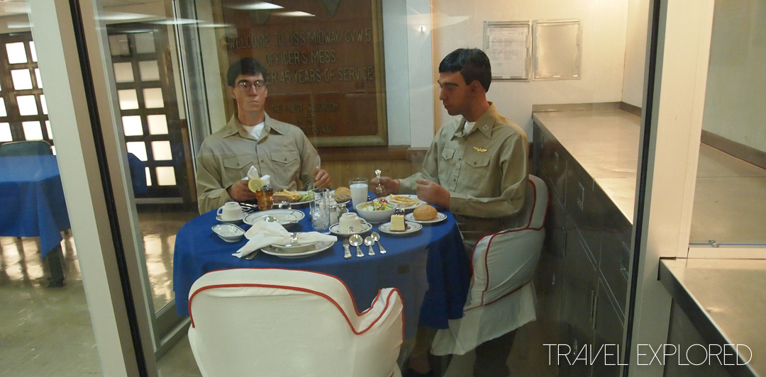 San Diego - USS Midway Dining