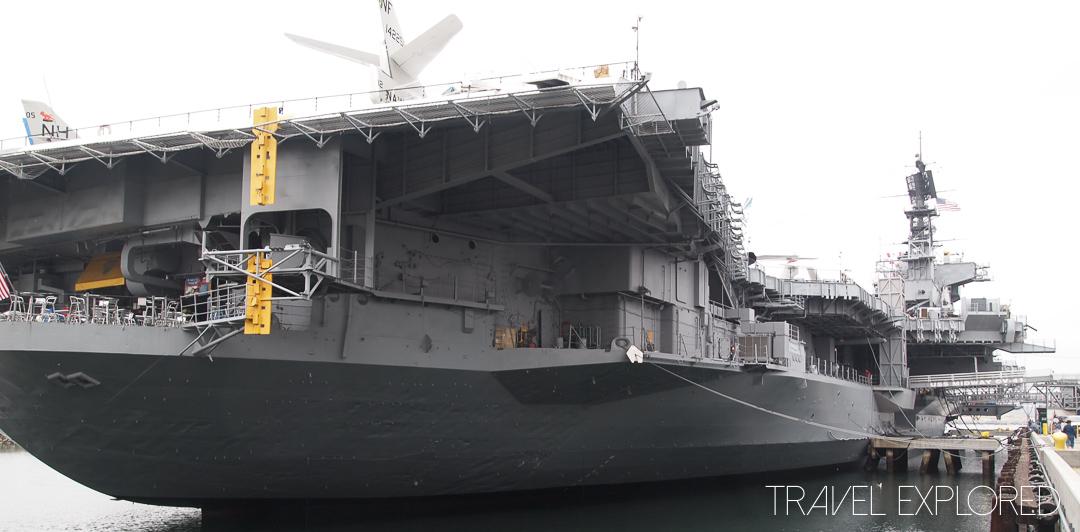 San Diego - USS Midway Stern