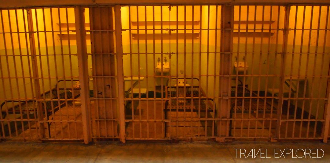San Francisco - Alcatraz Cells