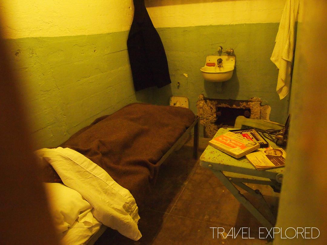 San Francisco - Alcatraz Prison Cell