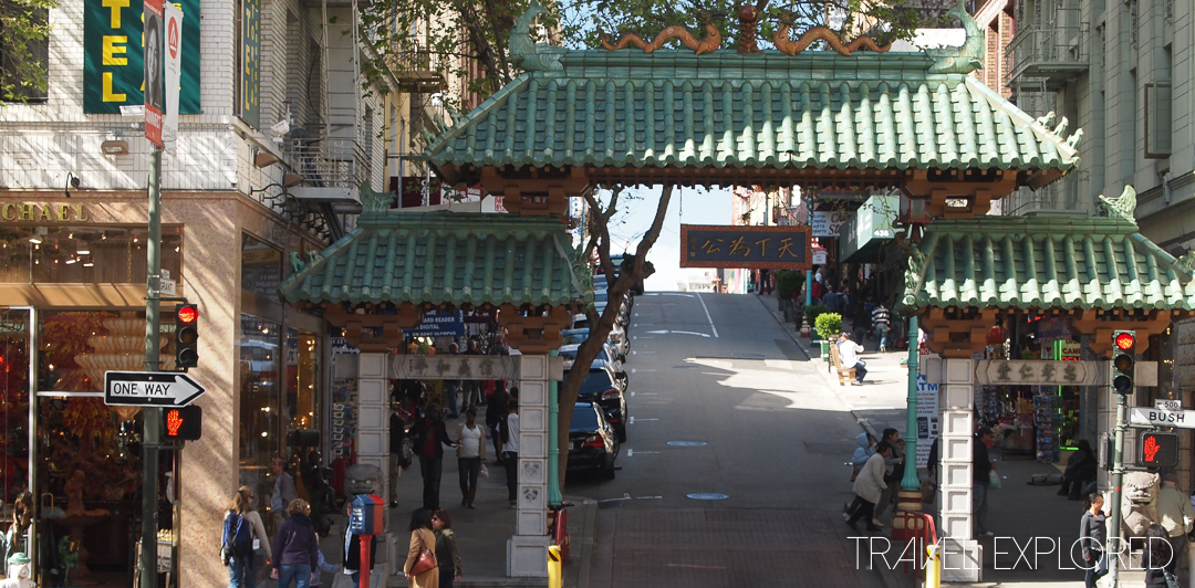 San Francisco - Chinatown Entrance