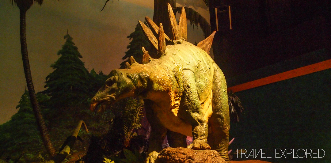 Seattle - Pacific Science Center Dinosaur