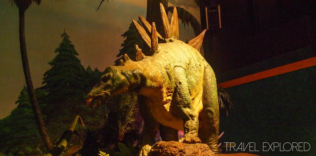 Seattle - Pacific Science Center Dinosaur