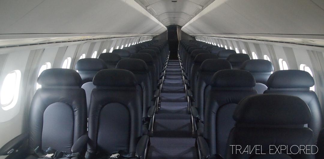 Seattle - Inside British Airways Concorde