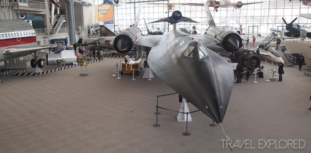 Seattle - Lockheed Blackbird M-21
