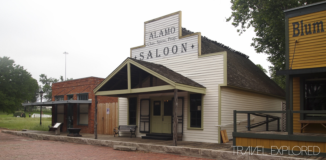 Dallas Historic Village - Saloon