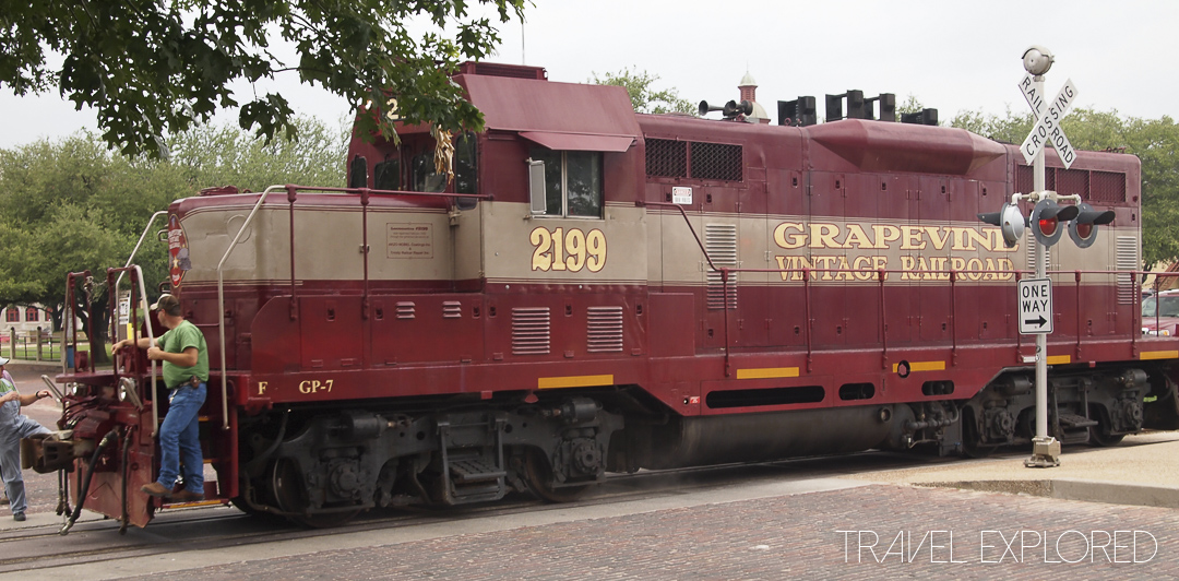 Fort Worth Stockyards Grapevine Vintage Railway