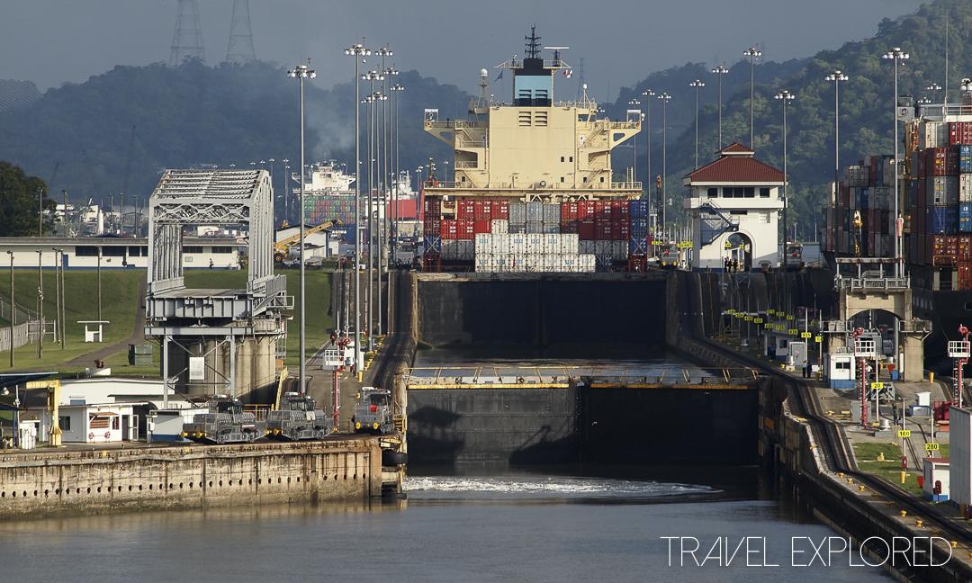 Panama Canal East Bound