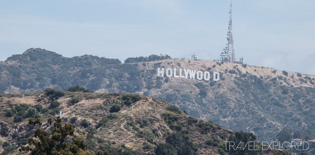 Los Angeles - Hollywood Sign from Highland Center