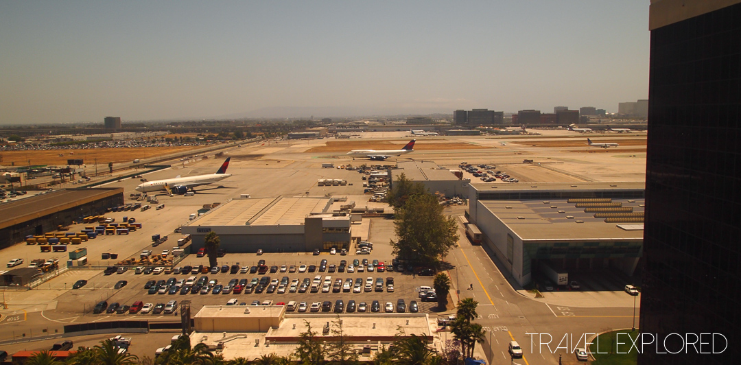 Los Angeles - Airport Hotel View