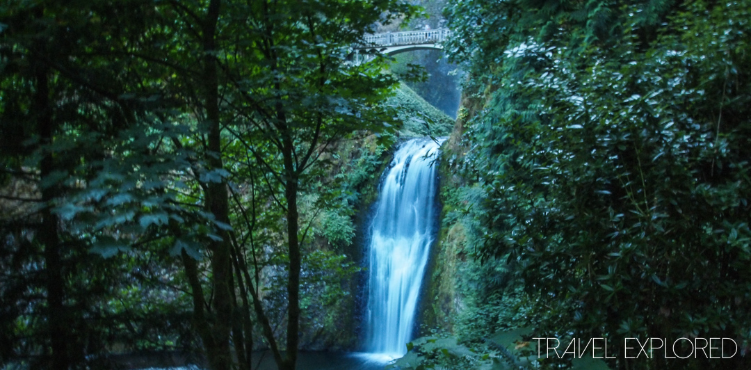 Columbia River Gorge - Multnomah Falls Lower