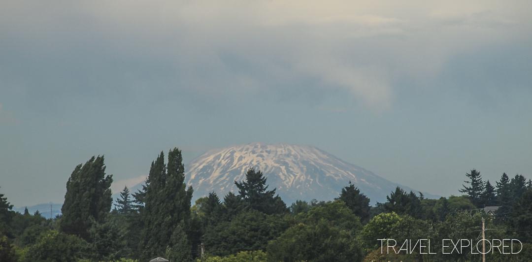 Portland - Mount St Helens