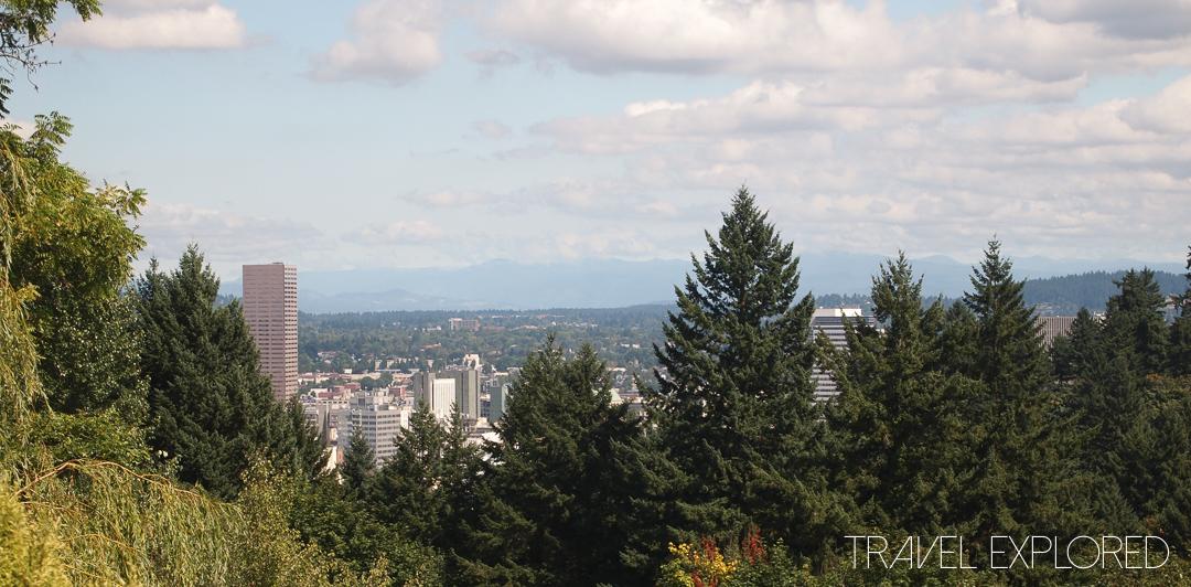 Portland - View from International Rose Test Garden