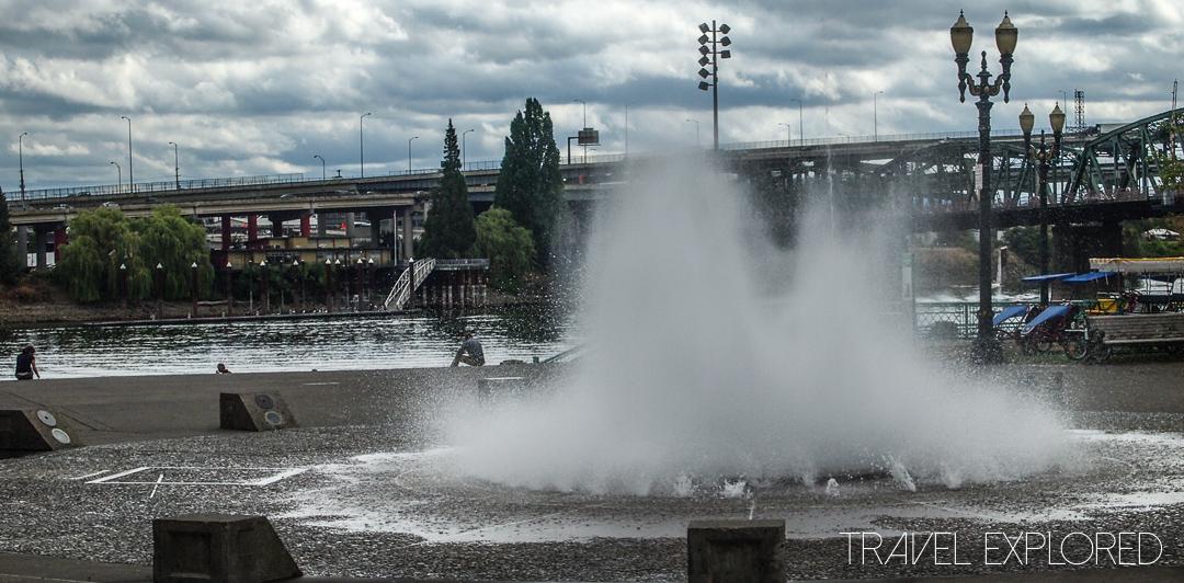 Portland - Salmon Street Springs Fountain