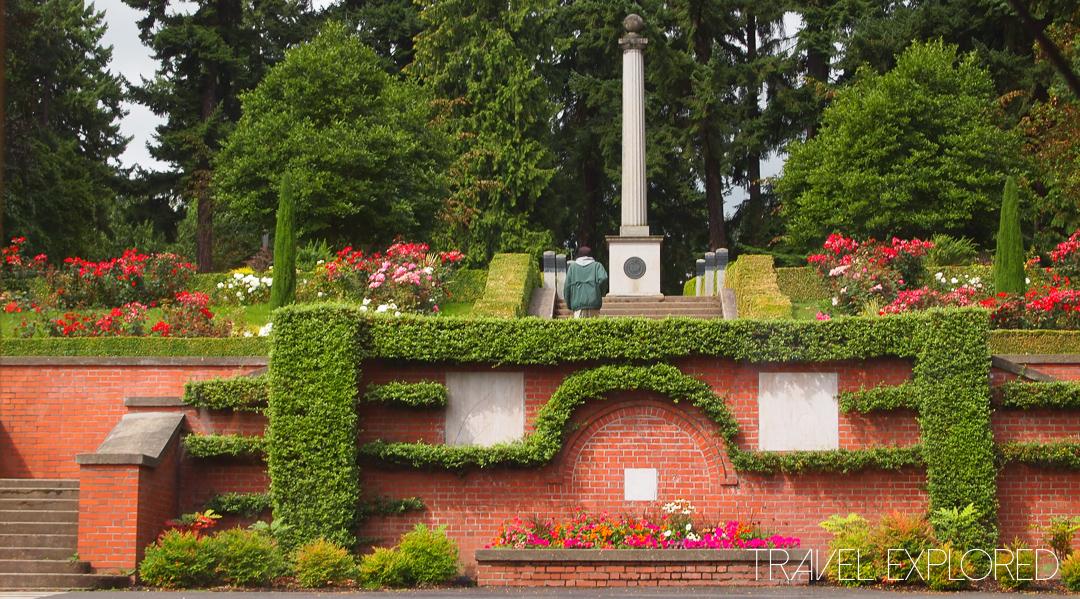 Portland - Washington Park Entrance, Lewis And Clarke Memorial