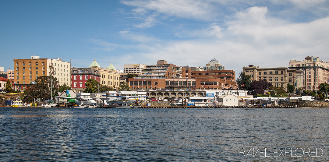 Victoria - City from Harbour