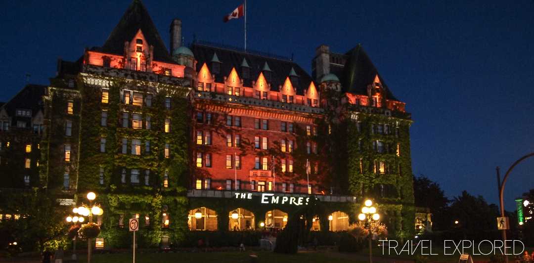 Victoria - Empress Hotel by Night