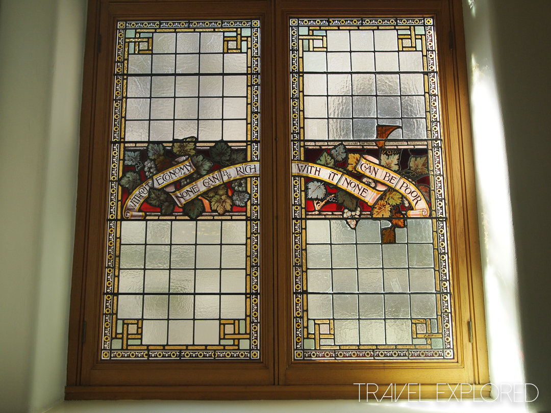 Victoria - Legislative Building Stained Glass Window
