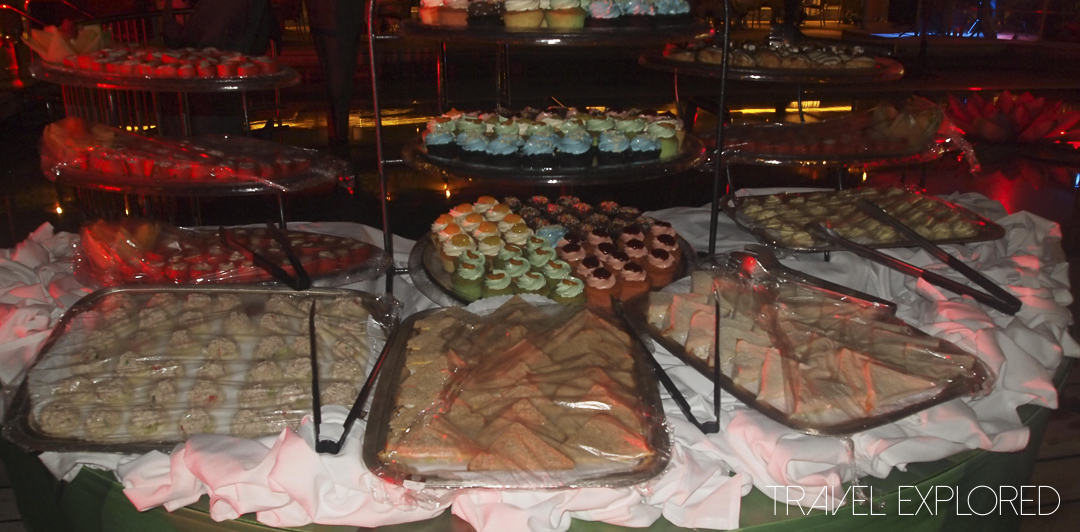 Volendam Island Sailaway Party Food