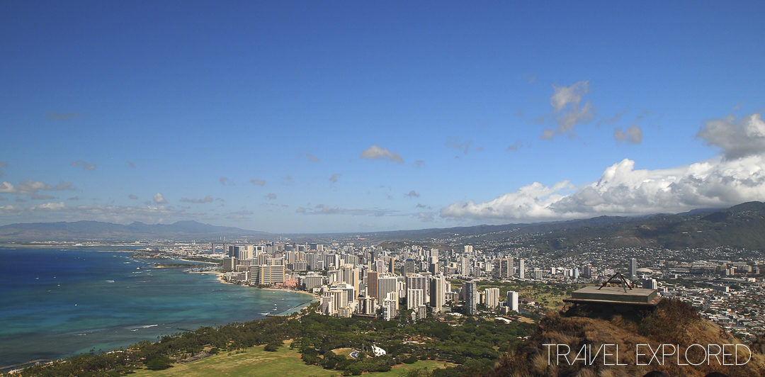 Hawaii - Honolulu - Diamond Head View