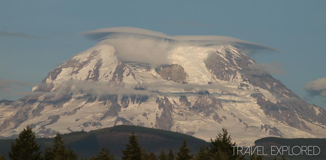 Mt Rainier - Cloud Halo