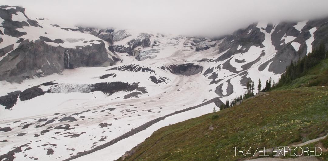 Mt Rainier - Nisqually Glacier