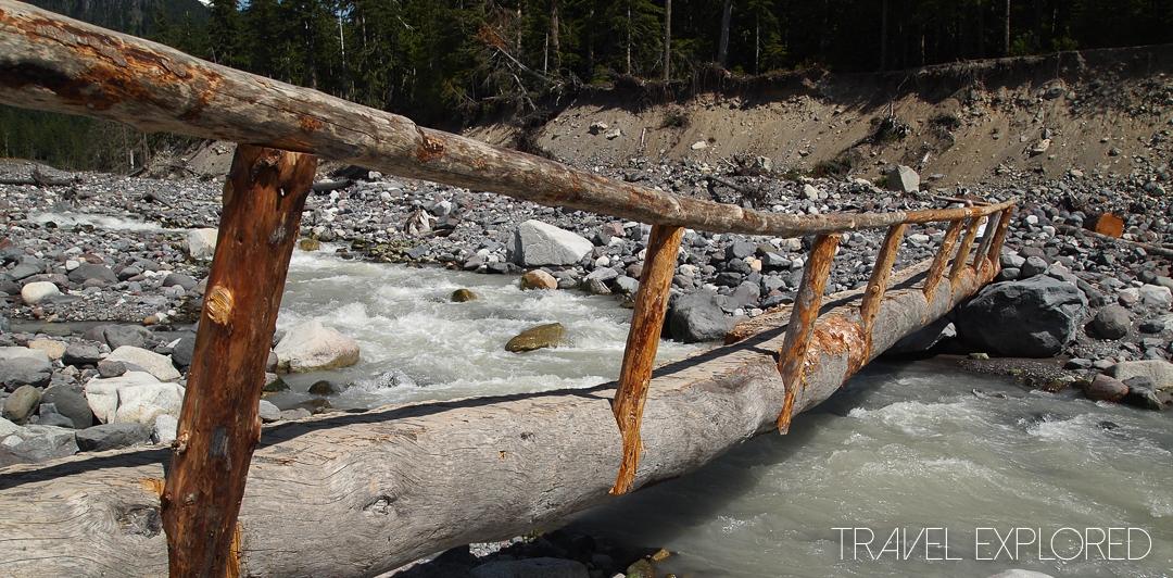 Mt Rainier - Bridge over Nisqually River