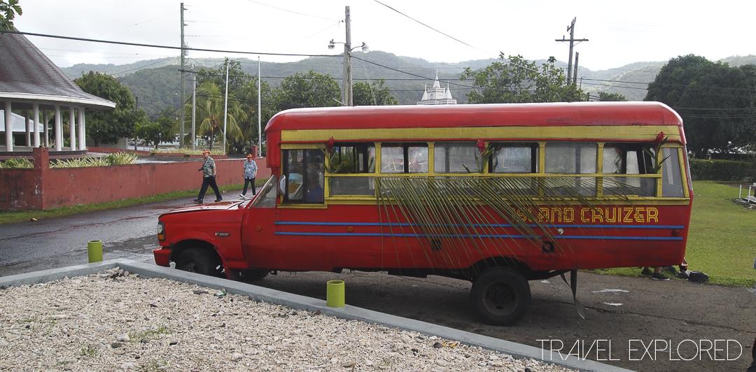 Pago Pago - Tour Bus